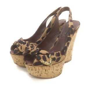 Louis Vuitton Sandals  Leopard Women swanky 1134637