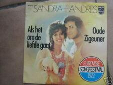 EUROVISION 1972 45 TOURS BELGIQUE SANDRA + ANDRES