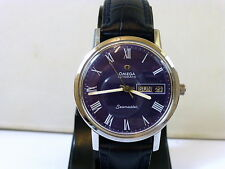 1971 GENTS STEEL OMEGA SEAMASTER DAY, DATE 1012 AUTOMATIC IN EXCELLENT CONDITION