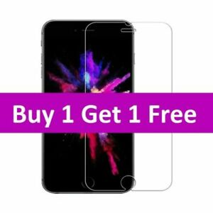 Tempered Glass Screen Protector For iPhone 13 Pro Max 12 XS Max XR XS  6 7 8+ SE
