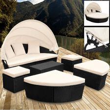 Sonneninsel Poly Rattan Lounge Gartenmöbel Sitzgruppe Gartenliege Sonnenliege