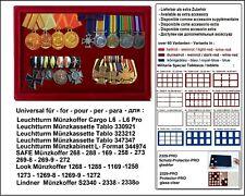 LOOK 12333-1 Münztableaus 1 Fach 295 x 190 x 9 mm Für Orden Militaria Abzeichen
