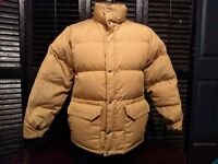The North Face Size M Vintage Brown Label Goose Down Puffer Jacket USA Used