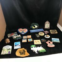 Lot of Miscellaneous Vintage Refrigerator Magnets