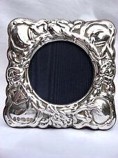 Magnifique Finest Quality Silver Hallmarked 999 London & Britannia cadre photo.