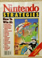 Vintage 1989 Nintendo Strategies Strategy Guide Magazine Volume No Number 1 NES