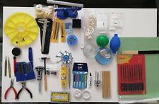 Complete Watchmaker Tool Set Bergeon, Victorinox, AF Switzerland