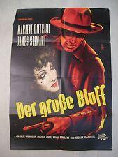 DER GROSSE BLUFF - DESTRY RIDES AGAIN - Poster Plakat - Marlene Dietrich