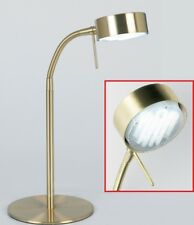 Endon Lighting Satin Brass Finish Adjustable Desk Lamp 102-TLSB