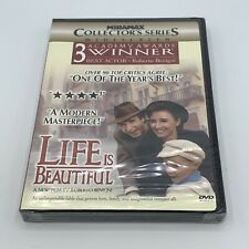 Life Is Beautiful (Dvd, 1999, Collectors Edition) Brand New And Sealed