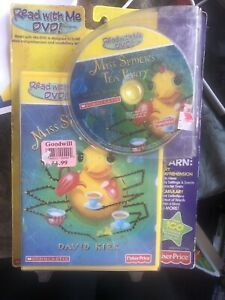 Read With Me DVD! Miss Spider's Tea Party Scholastic Fisher Price RARE KIDS NEW