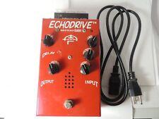 Original SIB EchoDrive Tube Echo Delay Effects Pedal Echo Drive w/Power Cord
