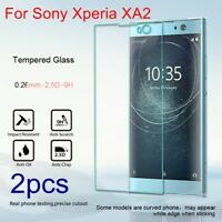 Premium Tempered Glass Screen Protector Film Guard For Sony Xperia XA2/XA2 Ultra