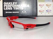 Oakley Flak Draft Infrared frame w/ Matte Black Oakley Icons - SKU# 9364-0567