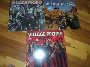 Vintage Vinyl LP RECORDS ROCK SOUL COUNTRY VILLAGE PEOPLE