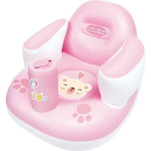 Nai-B K Hamster Inflatable Baby Chair Pink, for playing, eating, and lounging