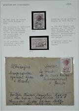 RUSSIA STAMPS AND COVER 1939 AVIATION DAY   (F3)