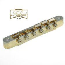 Faber ABRN-59-GA, ABRN59GA, Bridge fits Nashville Studs, Gold Aged Finish