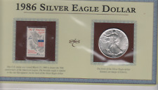 1986 SILVER EAGLE DOLLAR-1 OZ. SILVER-BU