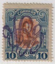 Mexico,Scott#375,10c,GCM inverted,MH