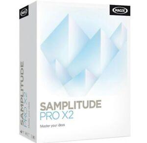 Magix Samplitude Pro X2 SILVER Digital Software for Windows KEY(READ DESCRIPTION