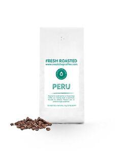 Fresh Roasted Peru Strictly High Grown Arabica Coffee Beans 1kg