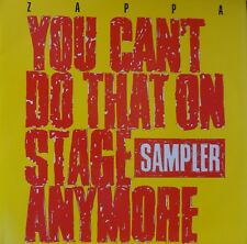 FRANK ZAPPA- 2 LP VINILE- YOU CAN'T DO THAT ON STAGE ANYMORE SAMPLER- 33 GIRI