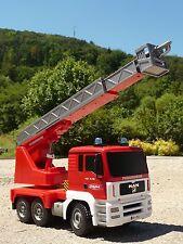 RC Modell FEUERWEHR LKW 35cm mit Drehleiter und 9 FUNKTIONEN