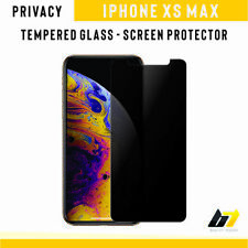 New Anti-Spy Privacy Tempered Glass 9H Hard Screen Protector For iPhone XS Max
