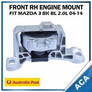 Engine Mount fits Mazda 3 BK BL 2.0L 2004-2014 Front Right Hand Side RH H'Duty