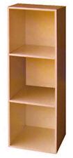 Libreria Mod. Cubo 3 6 9 vani cm 31x91  61x91 91x91 bianco ciliegio