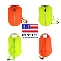 Mororock 20L Highly Visible Swim Buoy Safety Float And Waterproof Dry Bag