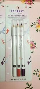 3 colors! Starlit Studio Vacay Face and Body Pencils new