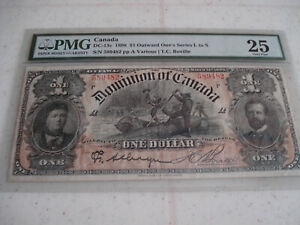 1898 DOMINION OF CANADA / $1 BANK NOTE