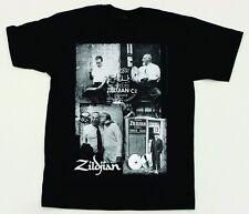 Zildjian Photo Real Tee T-Shirt Black size MEDIUM - NEW model T4592