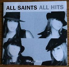ALL SAINTS - ALL HITS - MAIL ON SUNDAY PROMO MUSIC CD