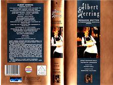 "VHS - "" Benjamin Britten - Albert HERRING "" (1985) - John Graham-Hall"