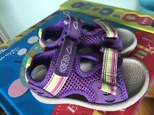 Clarks Baby Girls Summer / Lightweight Sandals Uk 5 Infant
