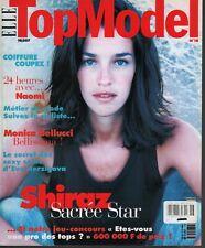 Elle Top Model French Mag Octobre 1997 Monica Bellucci Naomi Campbell 091919AME