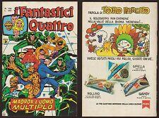 I FANTASTICI QUATTRO 158 MADROX, L'UOMO MULTIPLO - CORNO 26/4/1977