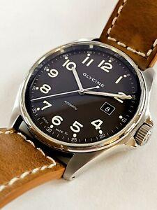 Glycine Combat 6 Luxury Swiss Made Automatic Mechanical Pilot's Watch