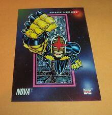 Nova # 61 1992 Marvel Universe Serie 3 Base Impel Carta