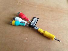 BN39-02189A Cable de género Samsung; DC a RCA Cable, 3p, l100, ul2