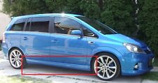 OPEL VAUXHALL ZAFIRA B MK2 PAIR OF SIDE SKIRTS OPC / VXR LOOK NEW 2 PCS