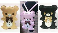 Cute Kawaii Gothic Punk visual Rock Teddy Bear handbag / backpack * 4 Colors  *