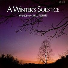 A WINTER'S SOLSTICE: WINDHAM HILL ARTISTS CD BY VARIOUS ARTISTS BRAND NEW SEALED