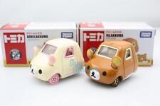 Takara Dream Tomica Tomy #155 Rilakkuma 2 CAR SET Diecast Toy Japan (Limited Ed)