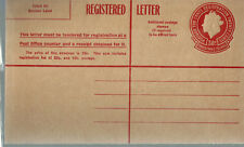 Christmas Island 1959 30c Registered envelope mint.