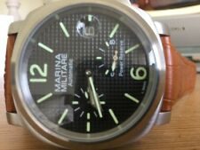 PARNIS Marina Militare Power Reserve Seagull Automatic 44mm Mens Watch - return.