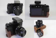 PU Leather half case bag bottom grip for Fujifilm FUJI X-E3 XE3 camera